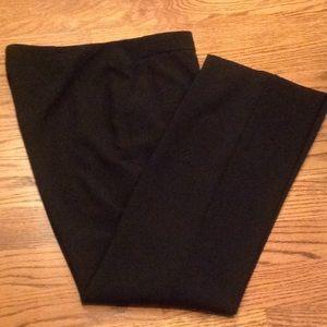 Chico's black side-zip pants